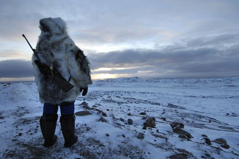 A whale of a fight: Inuit seek to protect their food source