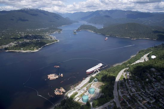 NEB rejects Burnaby's bid to stop work at Trans Mountain pipeline terminal