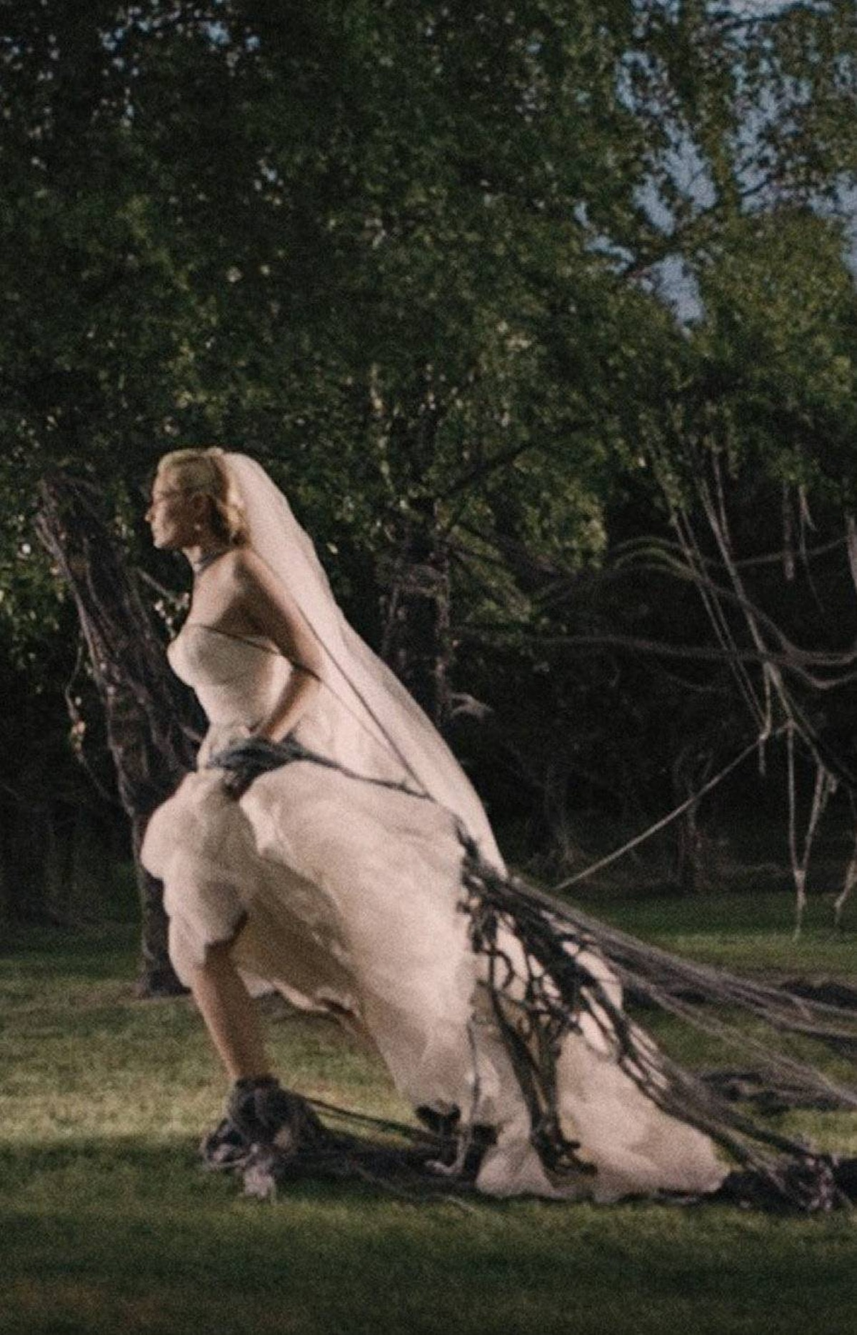 MELANCHOLIA From its hiding place behind the sun, a cerulean planet sets out on a collision course with earth; but, in the ever-contrarian hands of director Lars von Trier, the apocalypse has never looked better, the downbeat content given an intriguingly upbeat shine.