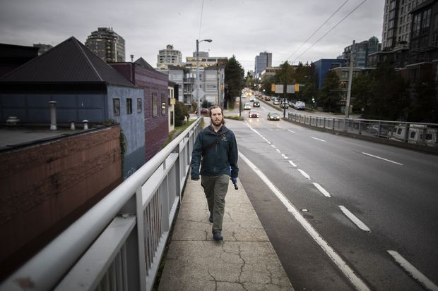 Massive 'trip diary' project finds a surprising number of Vancouver area residents walk to work, shopping, etc.
