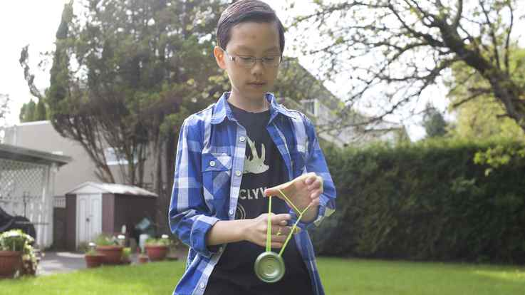 Harrison Lee is a 12-year-old yoyo prodigy from Vancouver