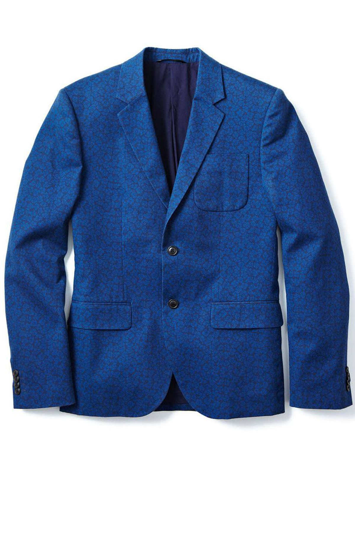 Men's floral jacket by Joe Fresh, $119 through www.joefresh.com.