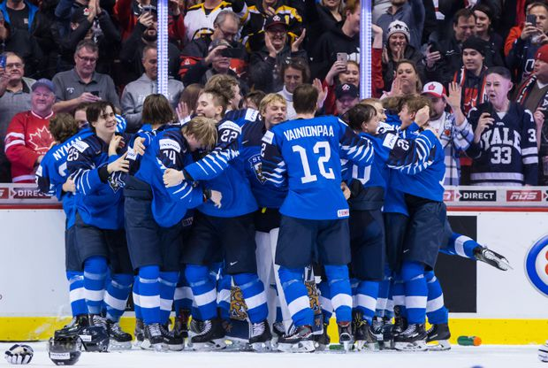 Finland Wins World Junior Championship With Dramatic 3 2 Win Over