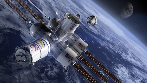 Everything you need to know about Aurora Station, the new luxury space hotel