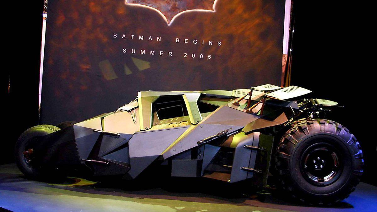 """Christian Bale drove this Batmobile in the 2005 movie """"Batman Begins."""""""