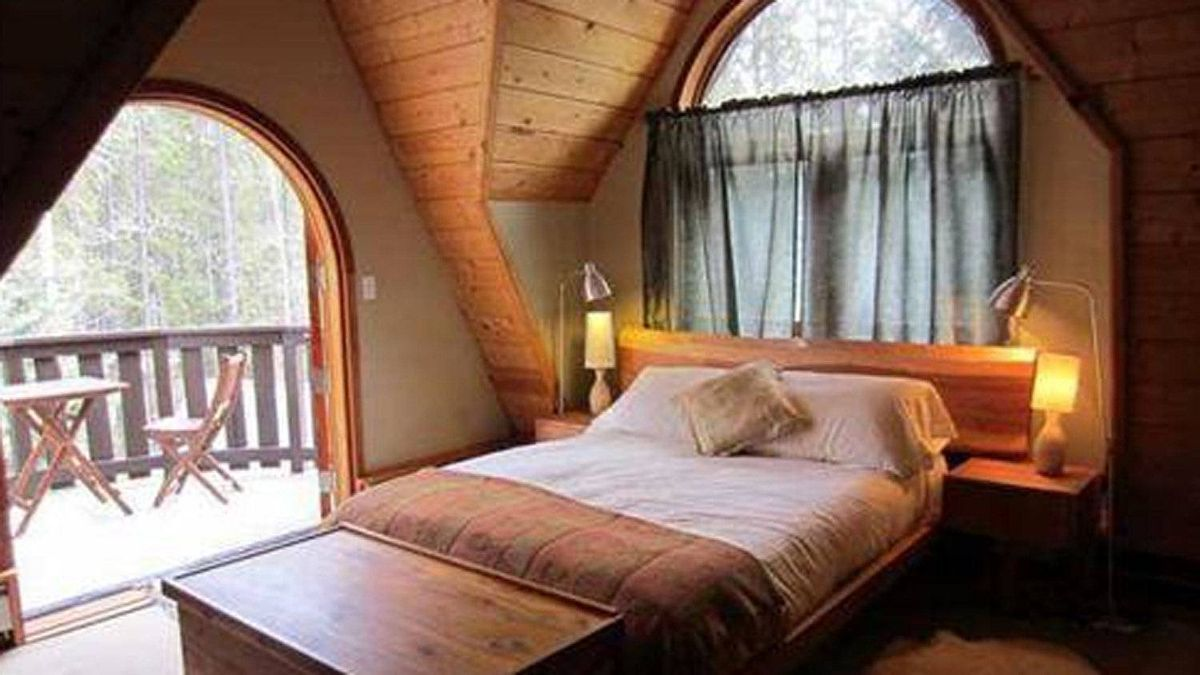 Bedrooms feature handcrafted wood work, built-in closets and rocky mountain views from every window