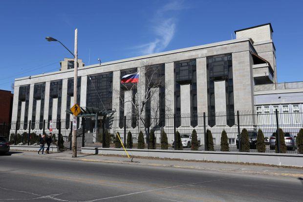 embassy in canada russian embassy