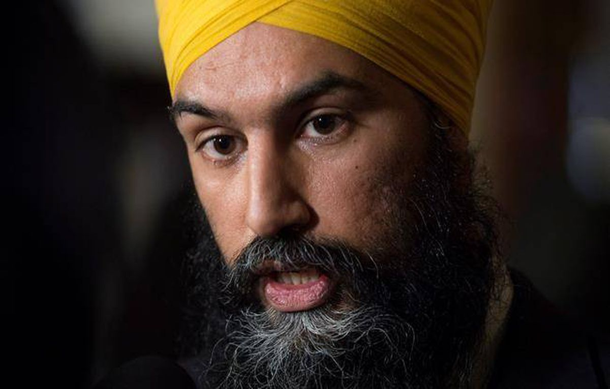 Jagmeet Singh attended Sikh separatist rally in 2015