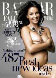 By 2006, nakedly ripping off Demi Moore and Vanity Fair was common practise for singers and actresses whose pregnancies conveniently coincided with an upcoming release. Or with a career hiatus involving the release of a best-of album, a series of personal embarassments and a marriage breakdown: Britney Spears, six months pregnant, posed for the cover of the August 2006 issue Harper's Bazaar.
