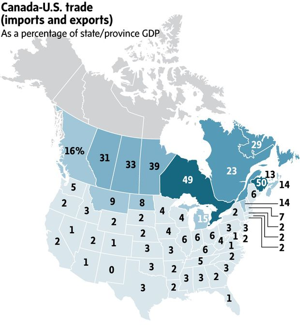 The Road To A New Nafta A Recap The Globe And Mail