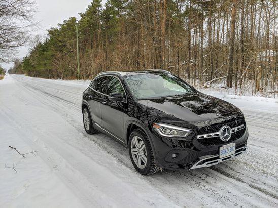 The 2021 Mercedes-Benz GLA is a comfortable ride for a small SUV