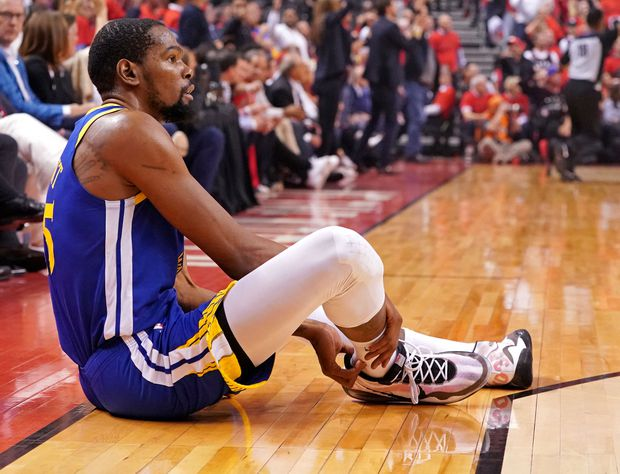 Everyone involved in letting Kevin Durant play Game 5 deserves blame