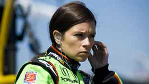 Danica Patrick of the U.S. for a practice session at the Honda Indy Toronto last July.