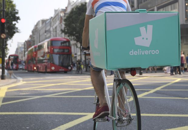 Amazon takes stake in Deliveroo as it challenges Uber in food delivery