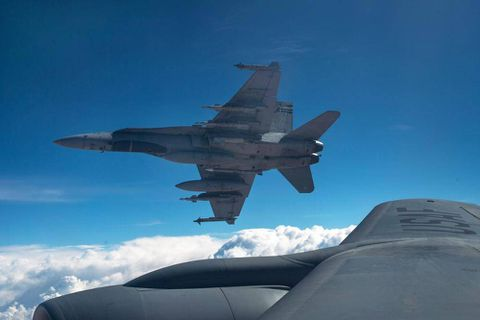 Canadian jets drop first bombs on Islamic State stronghold in Syria