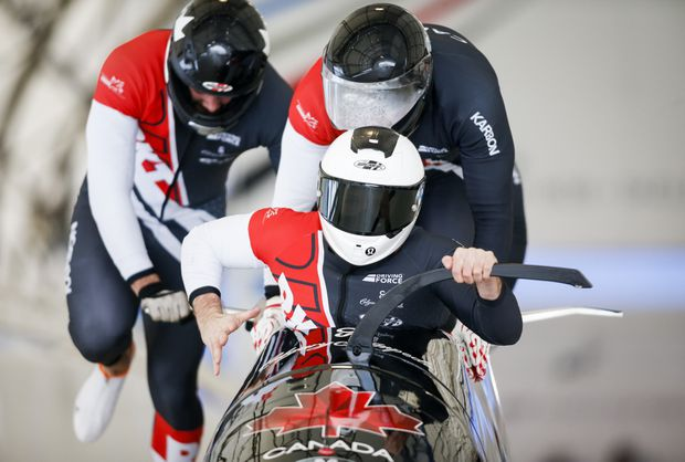 Canadian bobsledders take gold and bronze at World Cup