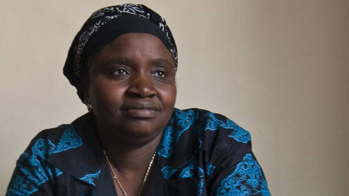 Justine Masika Bihamba, who runs a women's group in the eastern Democratic Republic of the Congo that fights against sexual violence, says that too much money from a $15 million Canadian project is being spent on posters, T-shirts and expensive foreign experts.