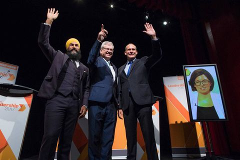 Speech of the last chance for the aspiring leaders of the NDP