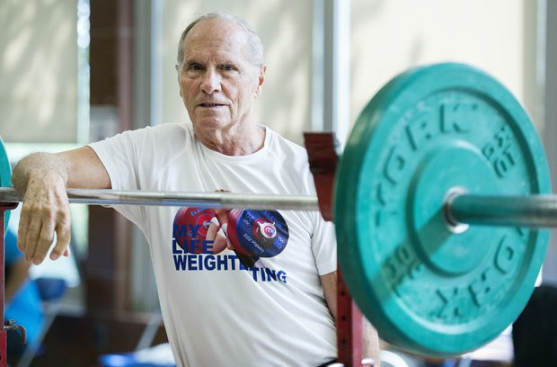 85-year-old, lifting since 1950, on track to cinch weightlifting championship