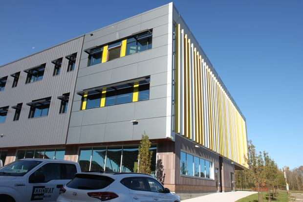 Waterloo, Ont , office takes green development to new level