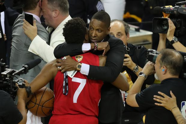 Raptors president Masai Ujiri won't face criminal charges over dispute with Oakland sheriff's deputy after NBA finals win