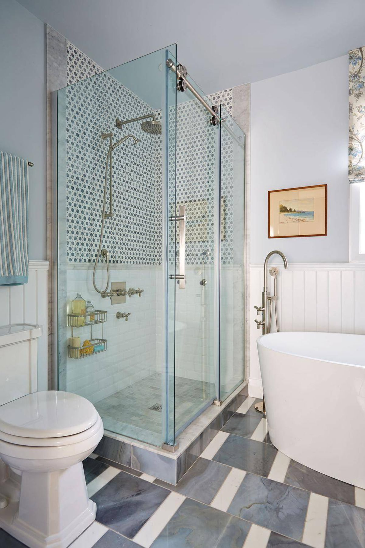 Sarah Richardson Expanded Bathroom Added Options The