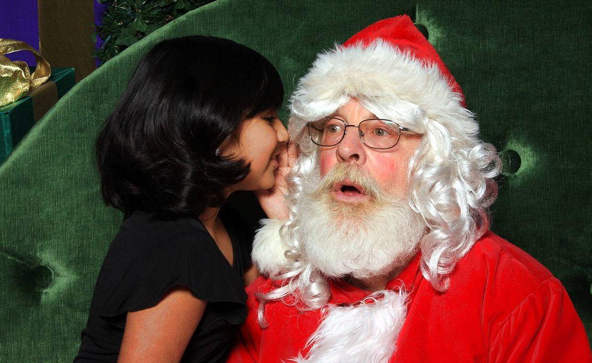 Charlene Kotze writes: Ruby (aged 8) shocks Santa with her list...