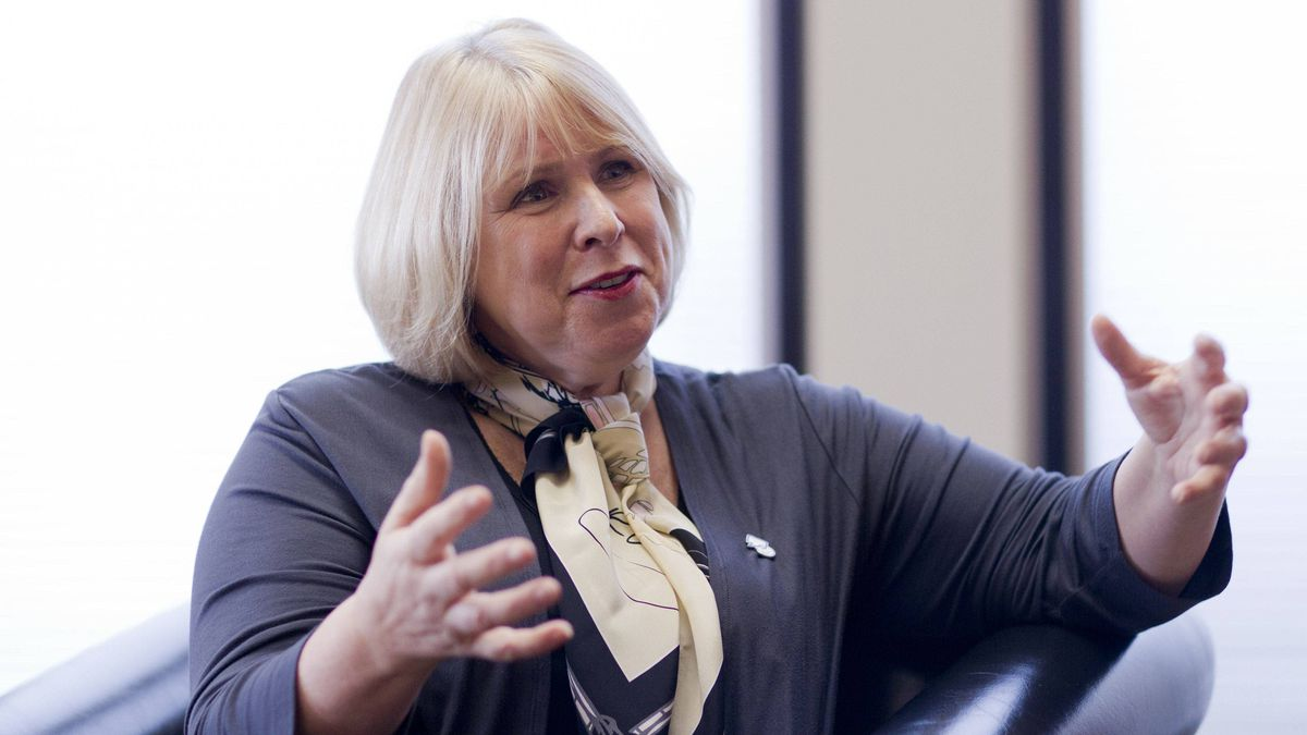 Ontario Health Minister Deb Matthews photographed in her office on Feb. 8, 2012.