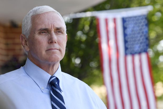 Air Force Two delayed after Pence staffer tests positive for coronavirus