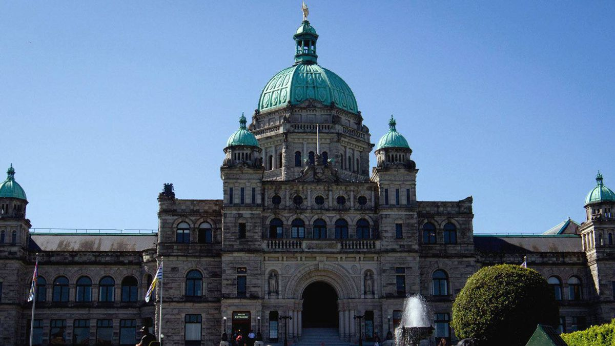 The British Columbia Legislature in Victoria, B.C., on Friday August 26, 2011.