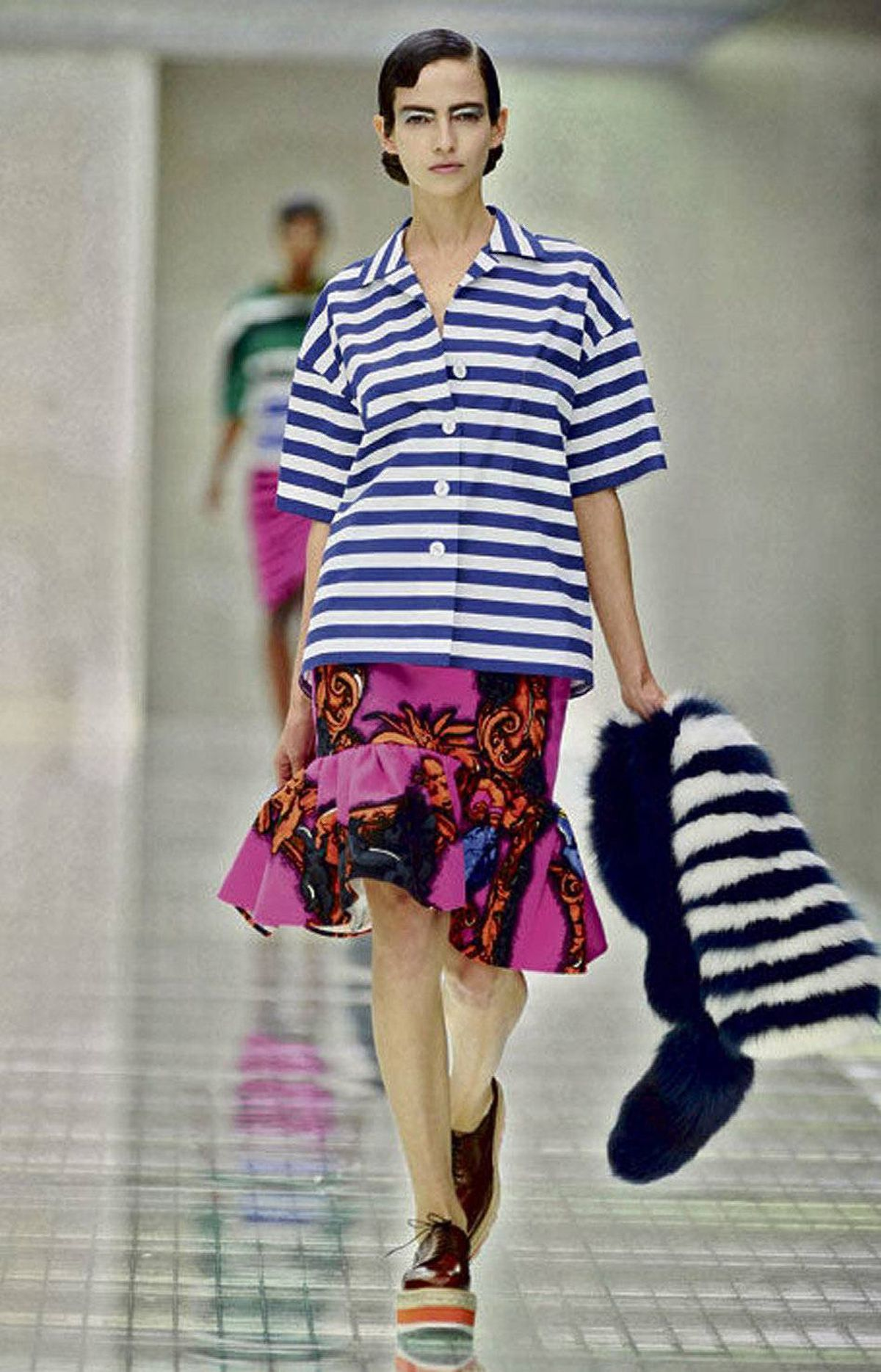 Prada's take on bold prints