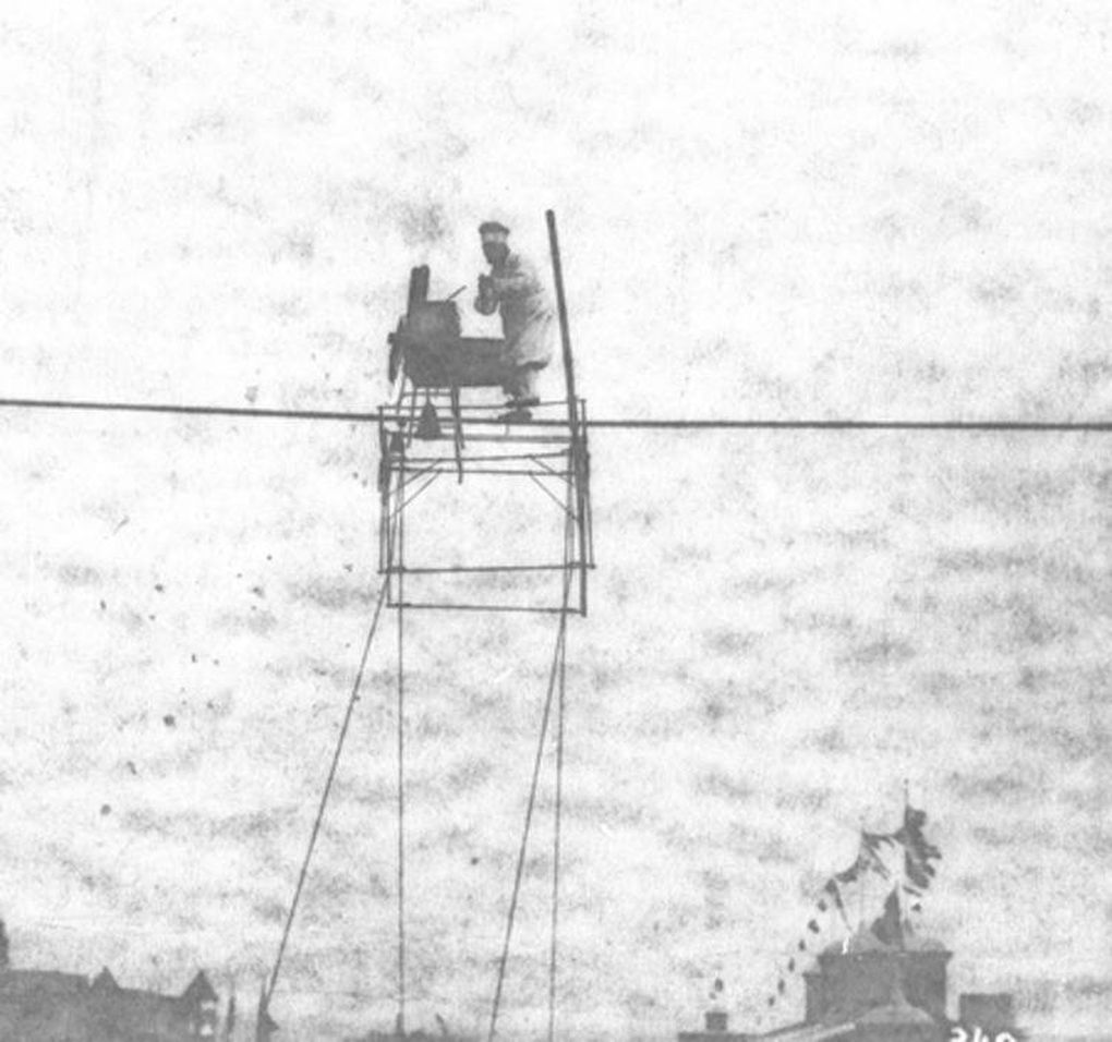 Walking a tightrope was the easiest part for Niagara's