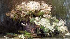"""Detail from Emily Carr's """"Wild Lilies"""""""