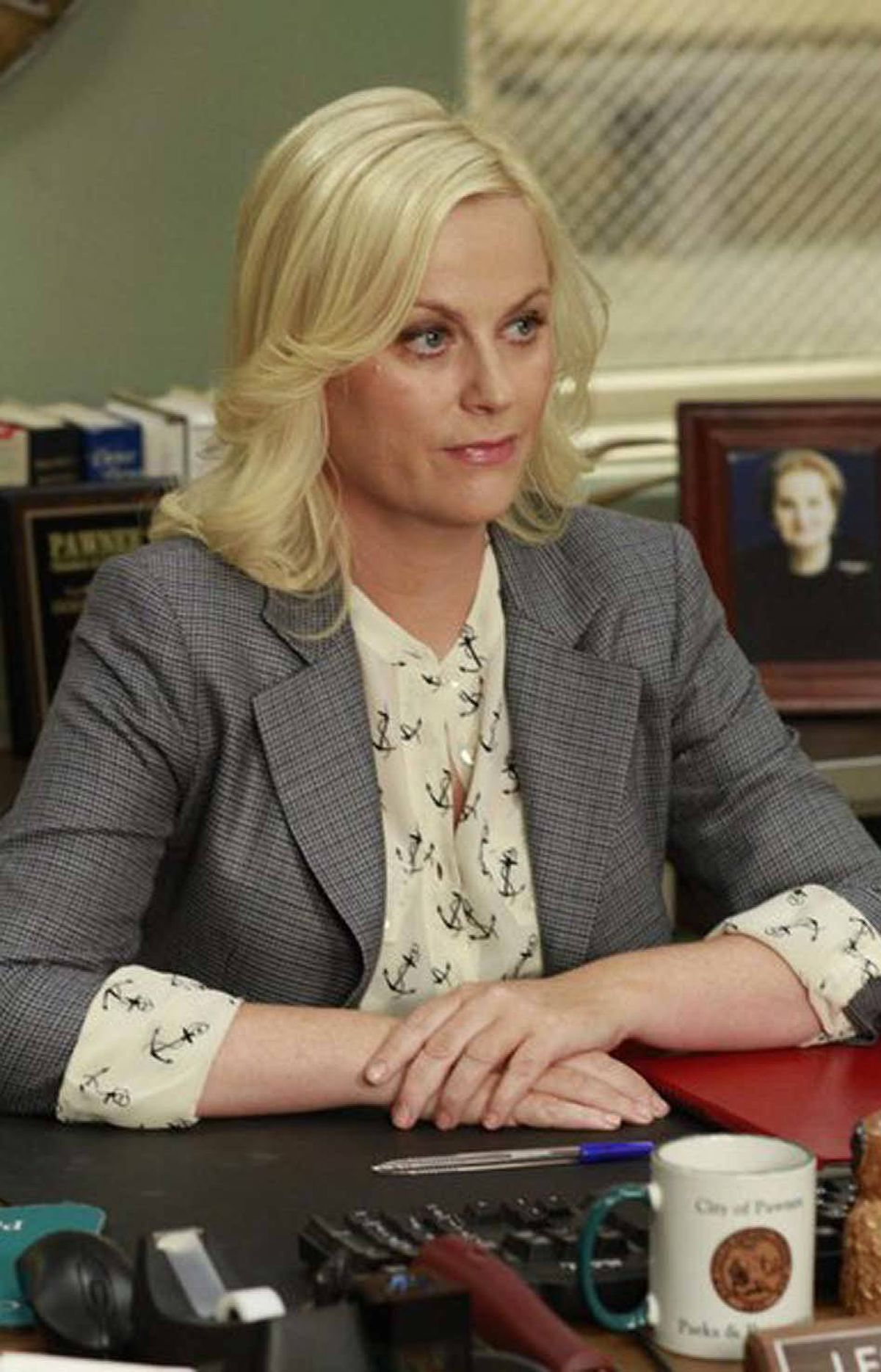 COMEDY Parks and Recreation NBC, CITY-TV, 8:30 p.m. In more progressive comedy stylings, this sitcom set in the government offices of fictional Pawnee, Ind., keeps getting funnier with each new episode. Tonight's show takes place on Valentine's Day and finds the hopelessly inept bureaucrat Leslie Knope (Amy Poehler) in a particularly buoyant mood. Besides planning her annual complicated scavenger hunt for her fellow employees, she also has to find a new man for her best friend Ann (Rashida Jones).