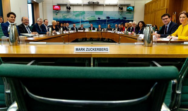MPs and global ministers blast Zuckerberg over non-appearance