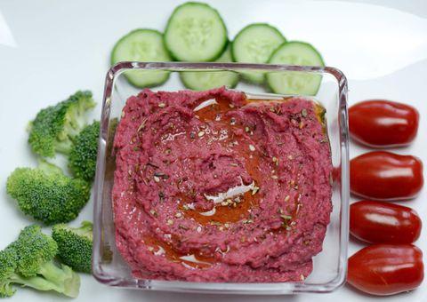 The Quick Fix: Beet Hummus