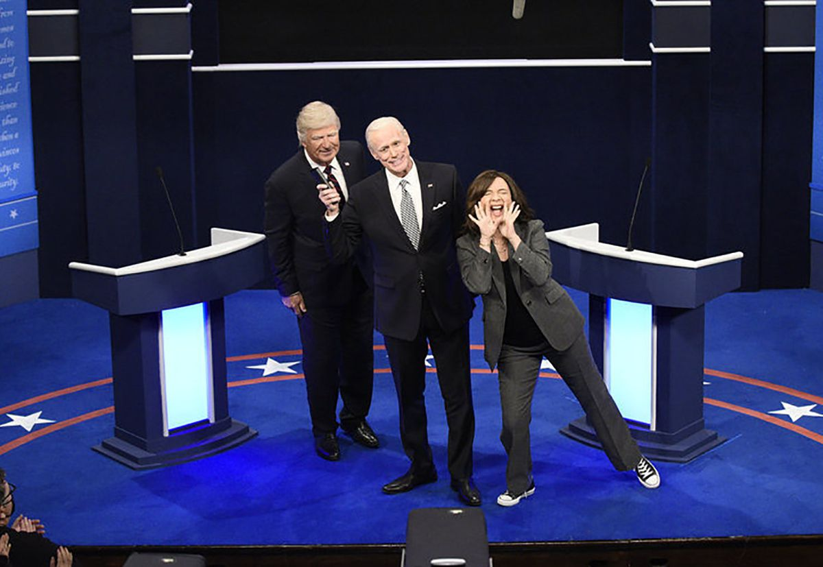 'Saturday Night Live' recreates debate in 46th season opener