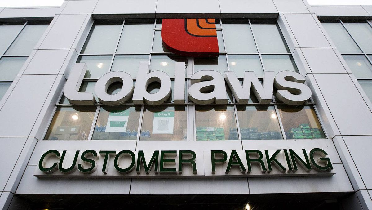 The Loblaws store located on St. Clair Ave.West in Toronto is shown on Wednesday, Feb. 18, 2009.