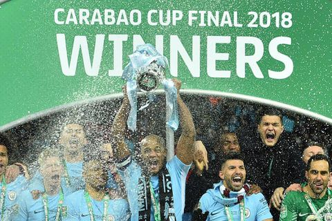 Man City hammer Arsenal to win first trophy of Guardiola era