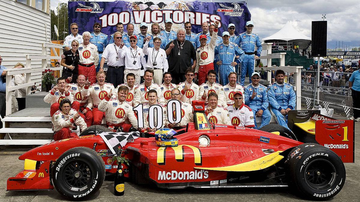2007 Portland Grand Prix On his way to an unprecedented fourth consecutive championship, Sebastian Bourdais scored Newman/Haas' 100th victory in U.S open wheel racing.