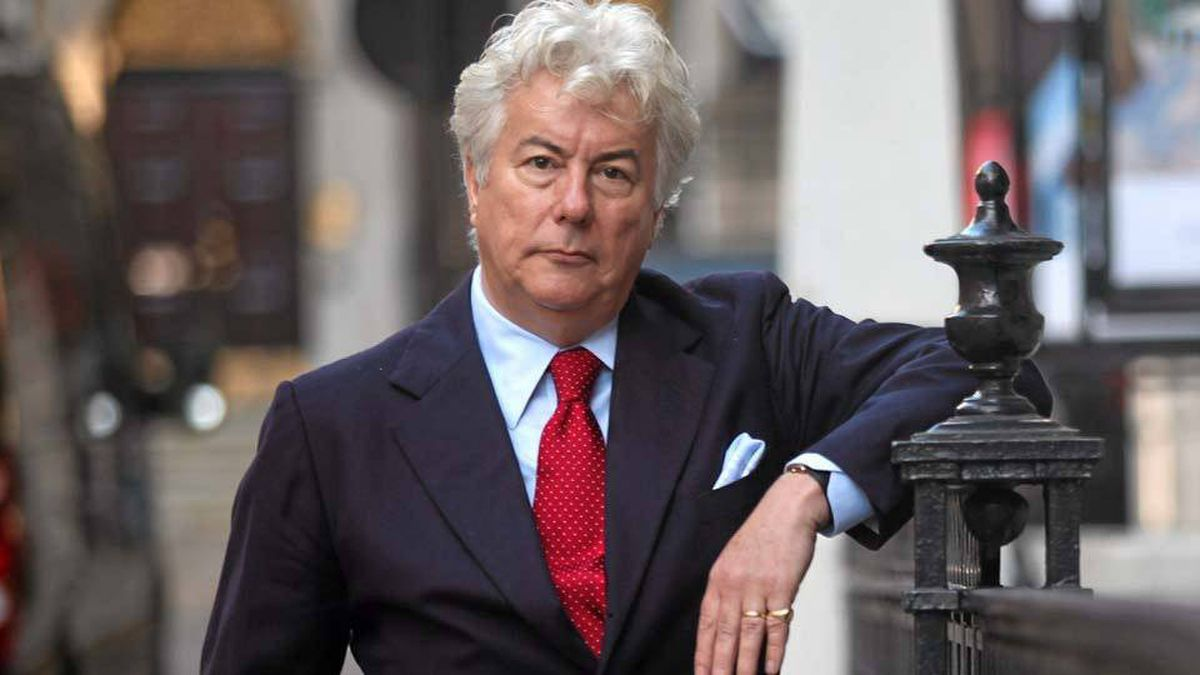 Ken Follett photographed in London this month.
