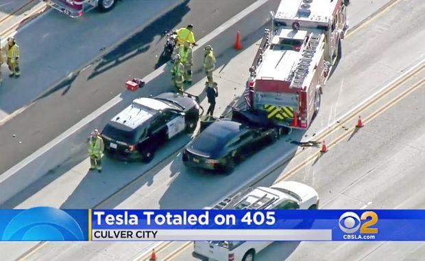 U S  safety agency cites Tesla Autopilot design as factor in