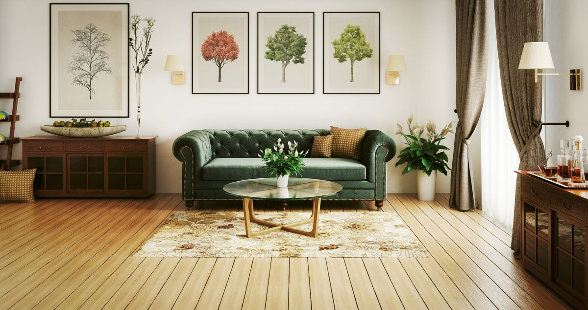 Ask a design expert: How should I fill the giant wall above my sofa?