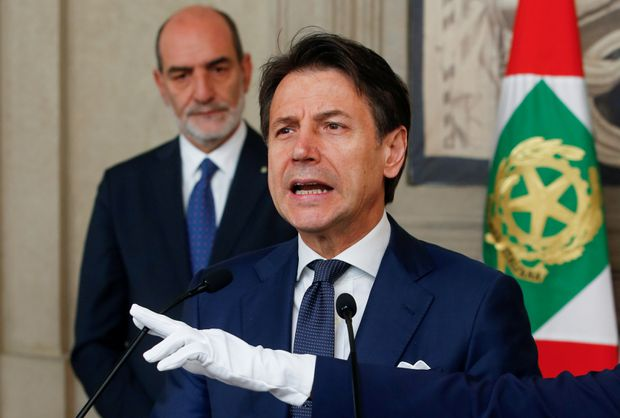 Conte says he aims to form Italy's government by mid-week