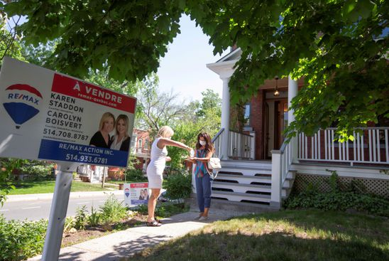 Canadian home prices edged up 0.7 per cent in June, but market slowing