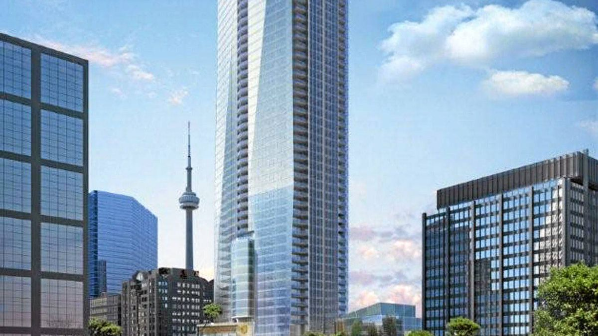 A rendering of the 66-storey Shangri-La tower in Toronto.