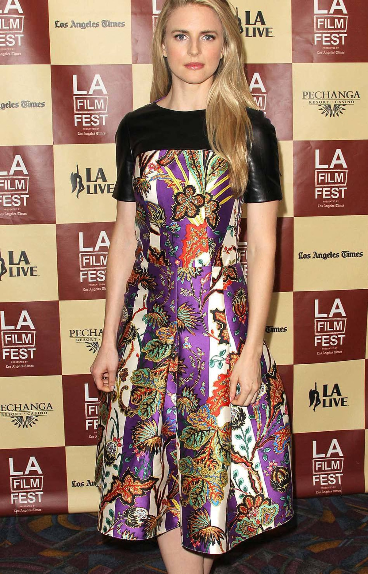 """Actress/producer/co-writer Brit Marling attends the Los Angeles Film Festival Screening of """"Another Earth"""" at the Regal Cinemas L.A. Live on June 23, 2011 in Los Angeles, California."""