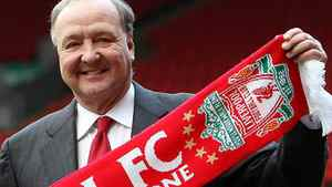 In this Tuesday Feb. 6, 2007 file photo Liverpool's new owner Tom Hicks, poses for photographers at Anfield Stadium, Liverpool, England. (AP Photo/Dave Thompson, File)