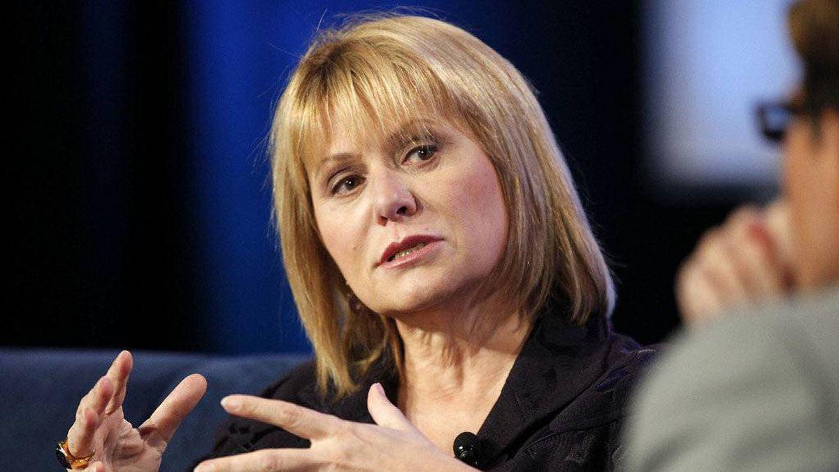 Carol Bartz, chief executive officer of Yahoo! Inc., speaks at the Web 2.0 Summit in San Francisco, California, U.S., on Tuesday, Nov. 16, 2010.
