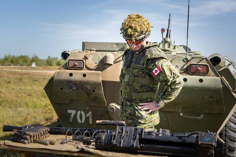 Human-rights groups sound alarm about Canada selling arms to Ukraine